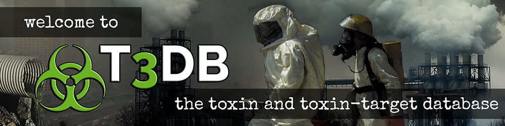 t3db Logo- The Toxin and Toxin Target Database (T3DB) - http://www.t3db.ca
